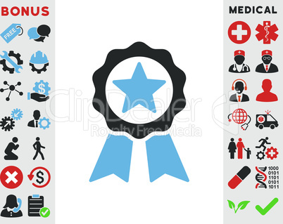 Bicolor Blue-Gray--certification seal.eps