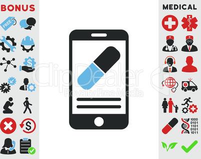 Bicolor Blue-Gray--medication online information.eps