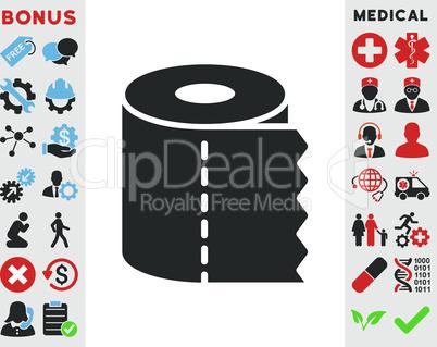 Bicolor Blue-Gray--toilet paper roll.eps