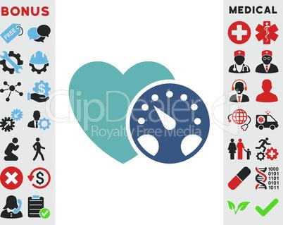 BiColor Cyan-Blue--blood pressure meter.eps