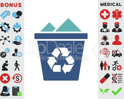 BiColor Cyan-Blue--full recycle bin.eps