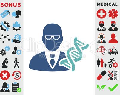 BiColor Cyan-Blue--genetic engineer.eps