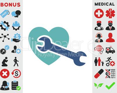 BiColor Cyan-Blue--Heart surgery.eps