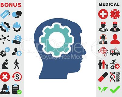 BiColor Cyan-Blue--human mind.eps
