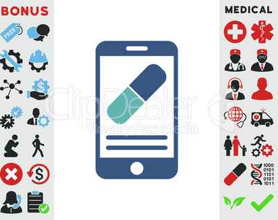BiColor Cyan-Blue--medication online information.eps