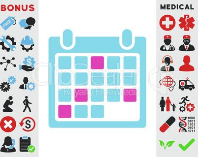 BiColor Pink-Blue--calendar appointment.eps