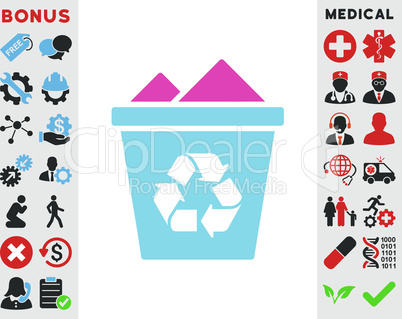 BiColor Pink-Blue--full recycle bin.eps