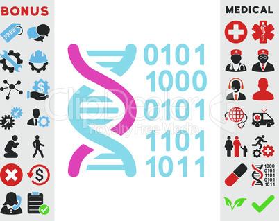 BiColor Pink-Blue--genome code.eps