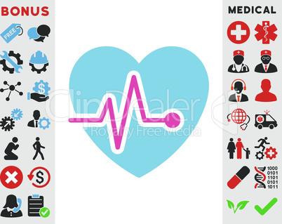 BiColor Pink-Blue--heart pulse.eps
