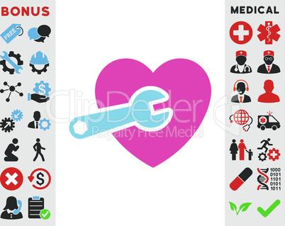 BiColor Pink-Blue--heart surgery v2.eps