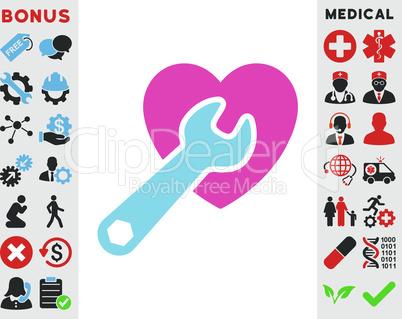 BiColor Pink-Blue--heart surgery v4.eps