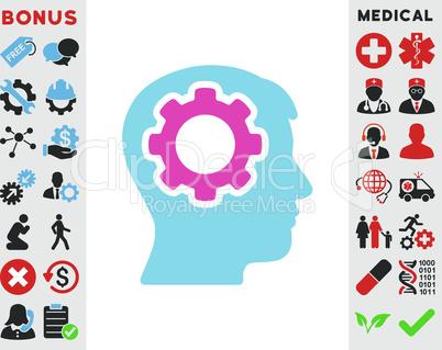 BiColor Pink-Blue--human mind.eps