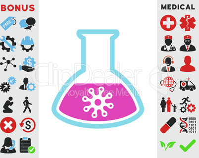 BiColor Pink-Blue--infection container.eps
