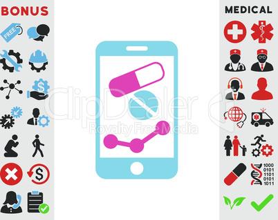 BiColor Pink-Blue--pharmacy online report.eps