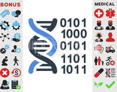 BiColor Smooth Blue--genome code.eps
