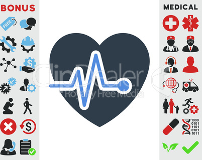 BiColor Smooth Blue--heart pulse.eps