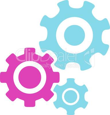 BiColor Pink-Blue--mechanism.eps