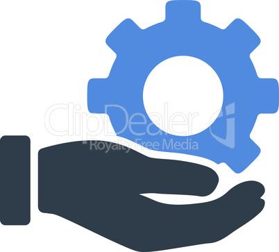 BiColor Smooth Blue--mechanic service.eps