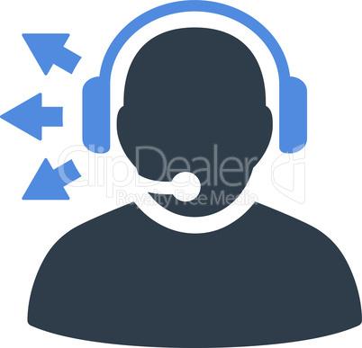 BiColor Smooth Blue--operator message v6.eps