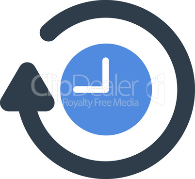 BiColor Smooth Blue--repeat clock.eps