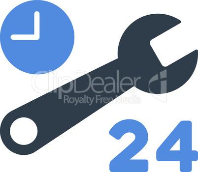 BiColor Smooth Blue--service hours v2.eps