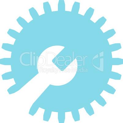 Blue--gear tools.eps