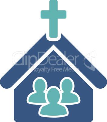 BiColor Cyan-Blue--church.eps