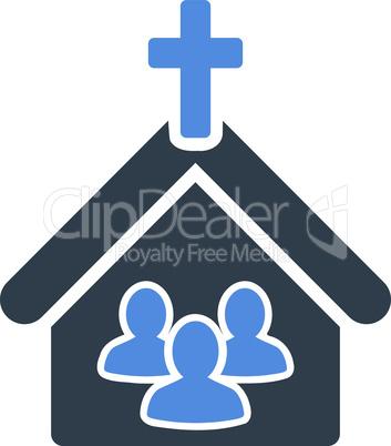 BiColor Smooth Blue--church.eps
