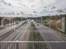 Motorway in London