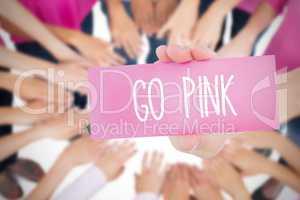 Go pink against oktoberfest graphics