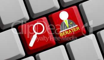 Tastatur Beratersuche