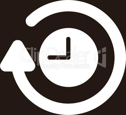 bg-Brown White--repeat clock.eps