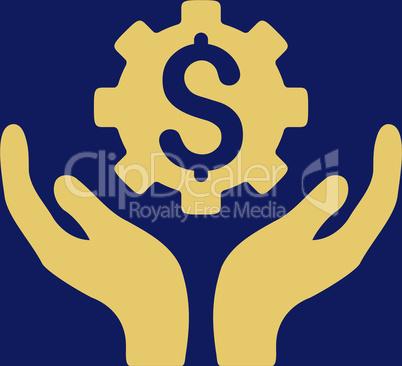 bg-Blue Yellow--maintenance price.eps