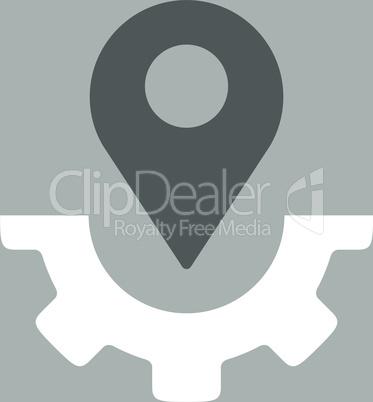 bg-Silver Bicolor Dark_Gray-White--service map marker.eps