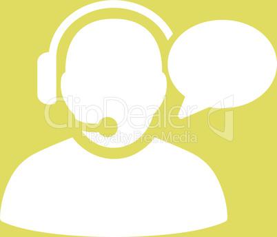 bg-Yellow White--operator message v2.eps