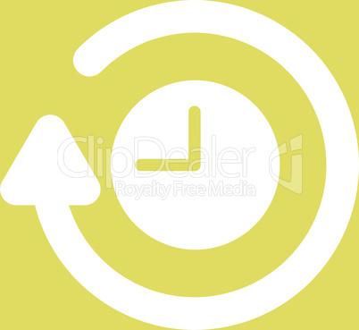 bg-Yellow White--repeat clock.eps