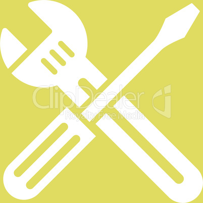 bg-Yellow White--Spanner and screwdriver.eps
