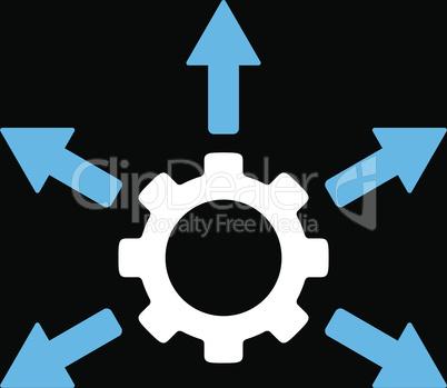 bg-Black Bicolor Blue-White--gear distribution.eps
