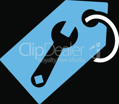 bg-Black Bicolor Blue-White--repair tag.eps