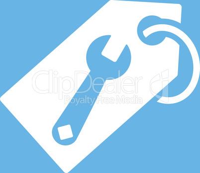 bg-Blue White--repair tag.eps
