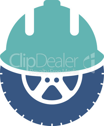 BiColor Cyan-Blue--wheel development.eps