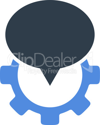 BiColor Smooth Blue--industry map marker.eps