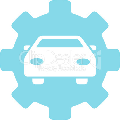 Blue--automobile service.eps