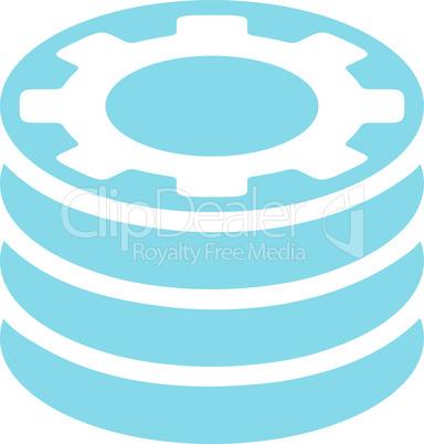 Blue--casino chips.eps