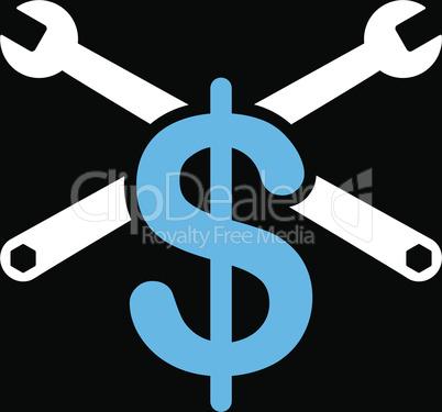 bg-Black Bicolor Blue-White--service price.eps