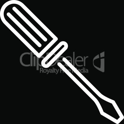 bg-Black White--contour screwdriver.eps