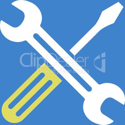 bg-Blue Bicolor Yellow-White--Spanner and screwdriver v2.eps
