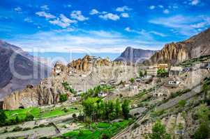 Dhankar Gompa. India. Spiti Valley