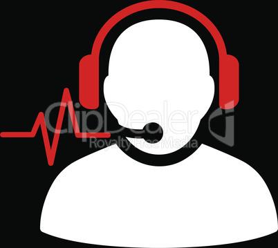 bg-Black Bicolor Red-White--operator signal.eps