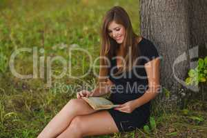 a girl of twenty European appearance young brown-haired woman in